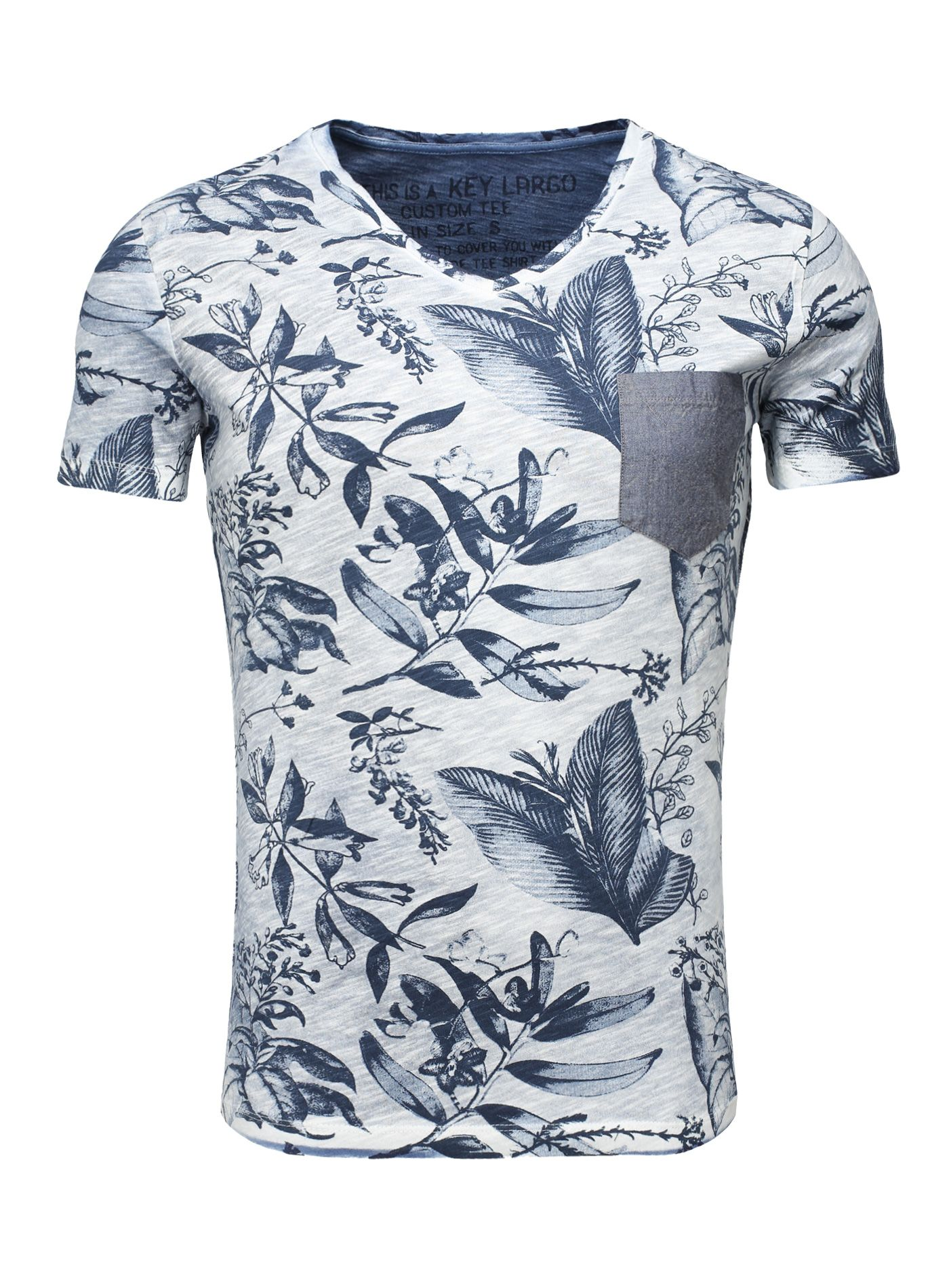 Key Largo T-Shirt TIM blue