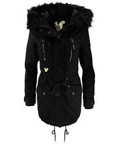 Image is loading Khujo-Ladies-Winter-Coat-Jacket-Jacket-Freja-Winter-