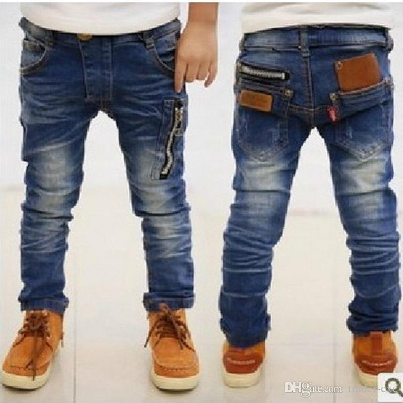 Cheap children's jeans for the summer and winter