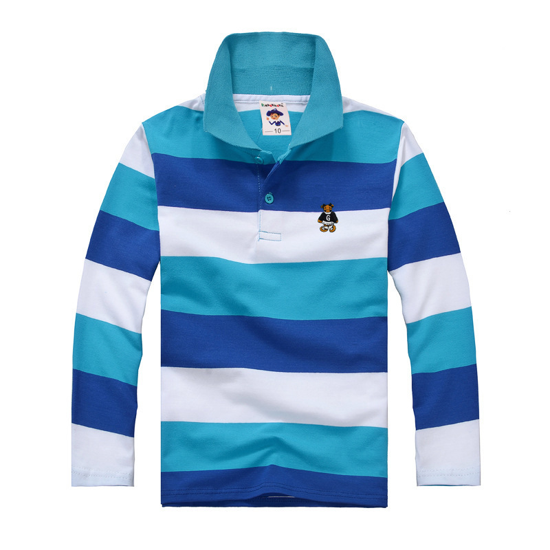 Top quality kids children boy t shirt kid boys clothing long sleeve cotton  striped children's T shirts 2 4 6 8 10 12 14 years-in T-Shirts from Mother  u0026 Kids ...