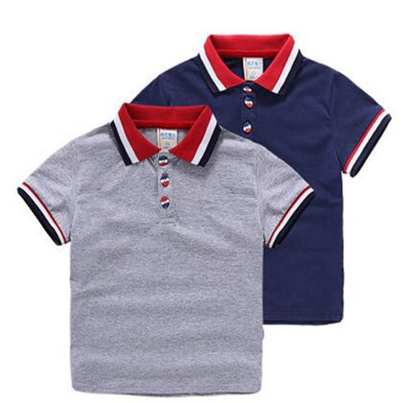 High Quality New Hot Baby Boys Polo Shirt Children 'S Clothing Summer  Clothes Baby Kids Child Brand 100 %Cotton Short Polo Shirt Boys Polo Shirt  Boys Short ...