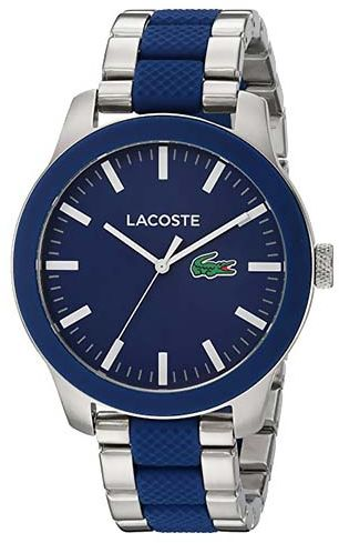 Lacoste Casual Watch For Men Analog Stainless Steel - 2010891