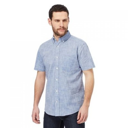 Maine New England - Big and tall navy single pocket regular fit