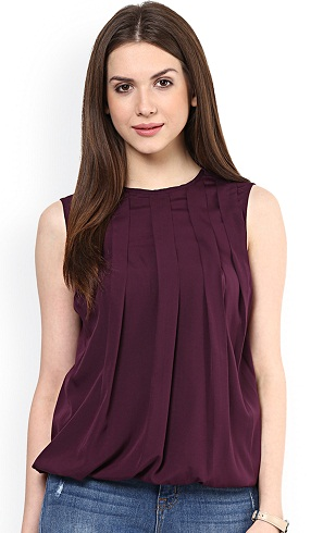 Women's Simple Sleeveless Top: