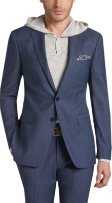 Calvin Klein Blue Slim Fit Suit