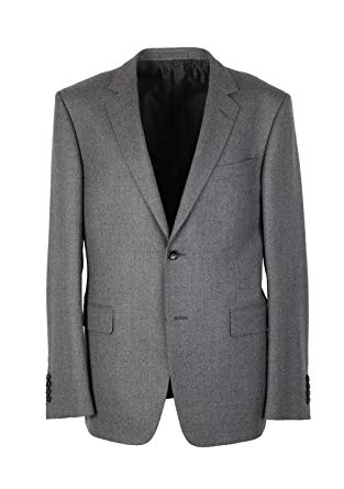 Gucci CL Gray Flannel Suit Size 50/40R U.S. in Wool
