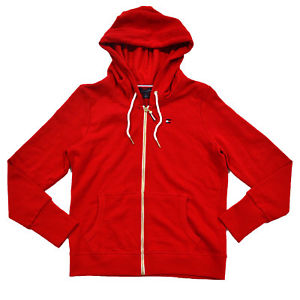 Image is loading Tommy-Hilfiger-Womens-Hoodie-Full-Zip-French-Terry-