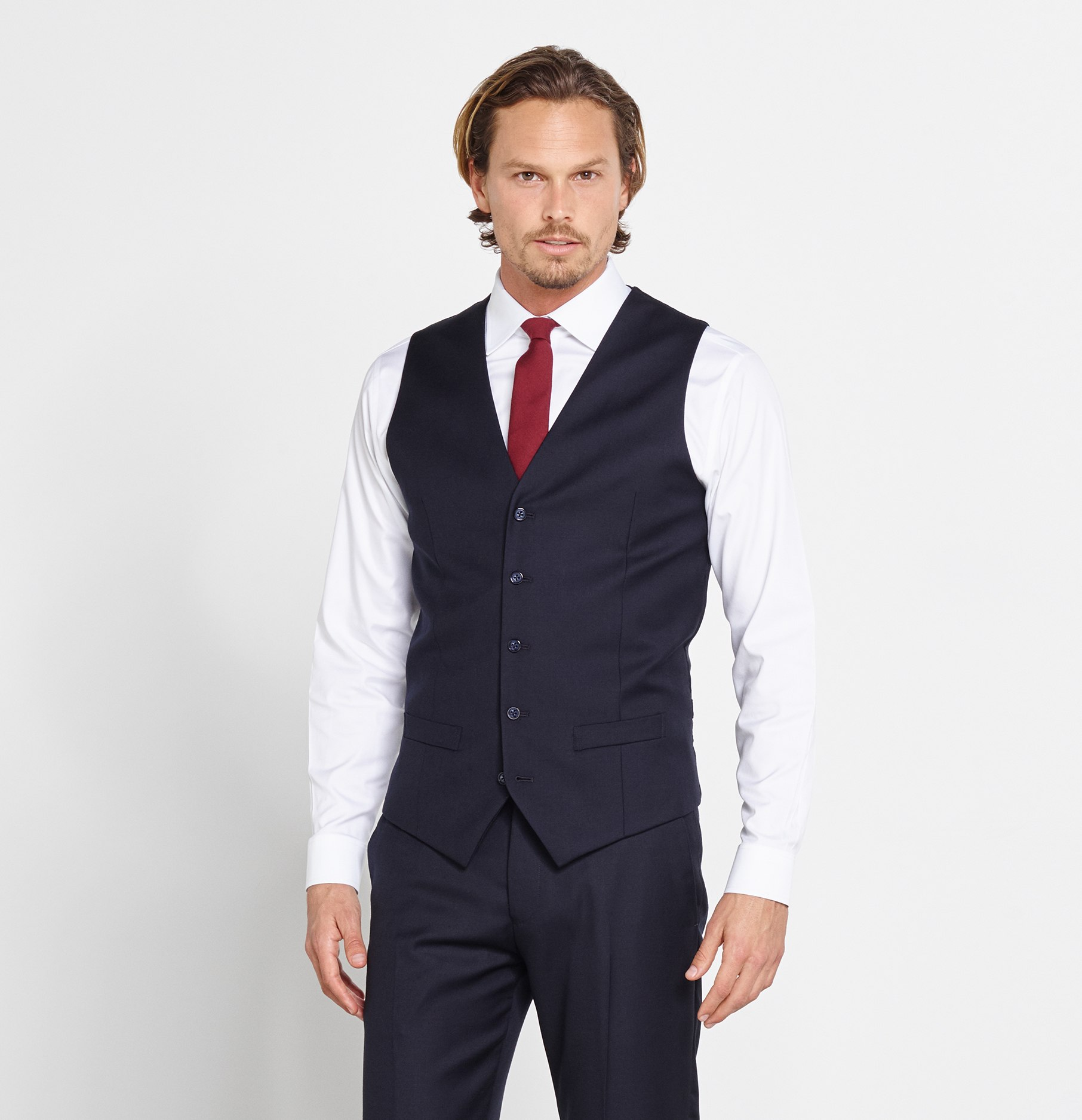 Vests for suits