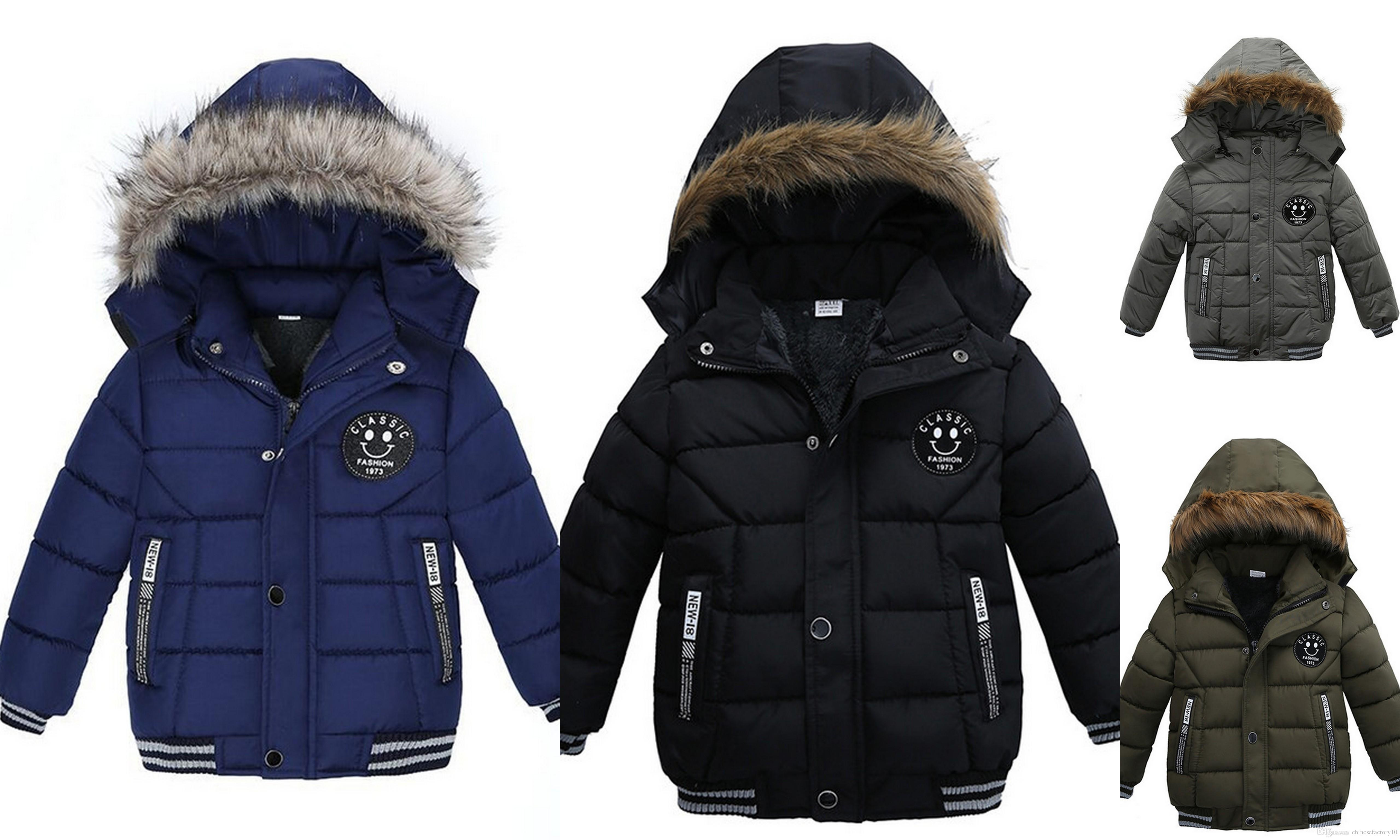 Boys Korean Thick Winter Cotton Padded Jacket Winter Warm Baby Boys  Clothing Outwear Coats Youth Boys Winter Jackets Lightweight Jackets For  Kids From ...