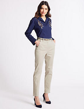 1836387b6eb2 Women's Chinos – exciting alternative to ladies jeans – ChoosMeinStyle