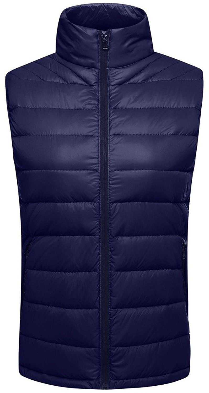 Womenu0027s Clothing, Coats, Jackets u0026 Vests, Vests, Womenu0027s Packable  Lightweight Outdoor Down Slim Fit Puffer Vest - Navy - CV183KX8SMU #women  #fashion ...