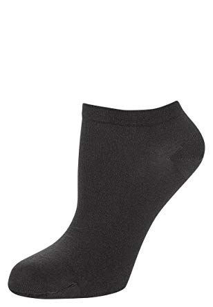 Wolford Women's Sneaker Cotton Socks Anthracite Socks SM