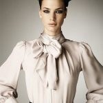 Stylish combinations with a blouse with bow