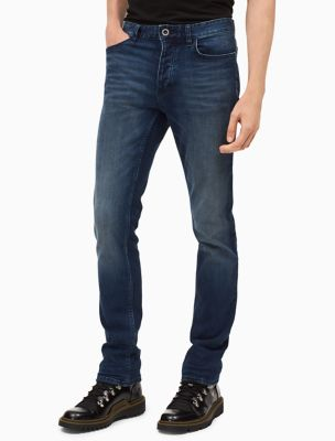 skinny leg authentic blue jeans | Calvin Klein