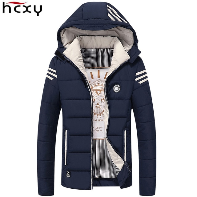 US $35.65 49% OFF| HCXY Men Winter Jacket 2017 Brand Casual Mens Jackets  And Coats Thick Warm Jacket Men Parka Outerwear Coat Plus Size 4XL-in  Jackets