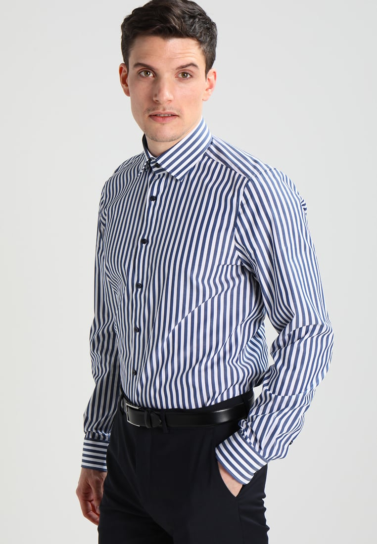 OLYMP LEVEL 5 BODY FIT - Shirt marine Men Clothing Shirts Authorized  Site,olymp modern fit sale,best-loved