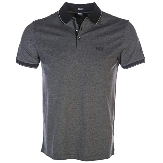 BOSS Polo Shirt Prout 10 in Black M