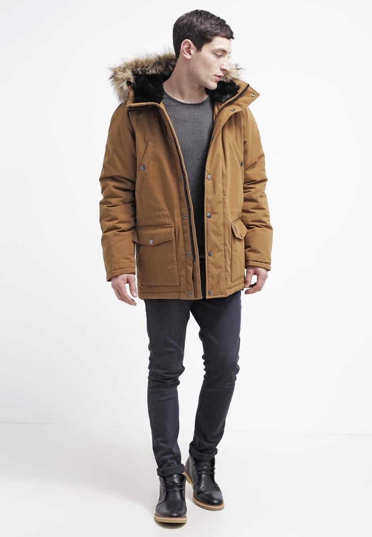 Carhartt WIP Men Parkas TRAPPER - Parka - hamilton brown/black,carhartt wip  michigan