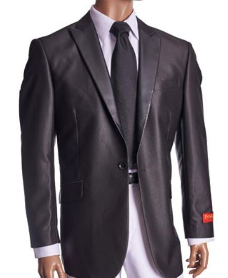 SKU#RM1594 Mens Fancy Cheap Blazers / Sport coat / For Men on Sale  Patterned Black Blazer