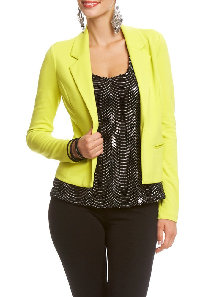 cheap yellow blazer