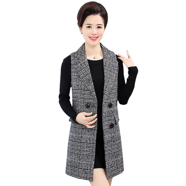 B1584 2018 spring and autumn new middle aged old women's fashion