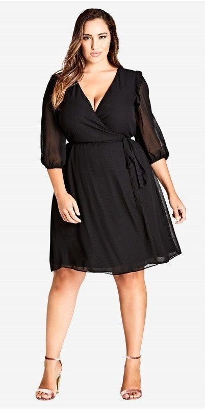 40 Plus Size Spring Wedding Guest Dresses {with Sleeves} - Plus Size Dresses  - Plus Size Fashion for Women - Traveller Location #alexawebb