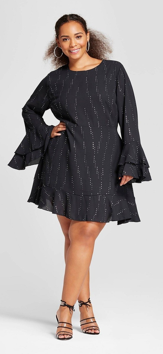 42 Plus Size Party Dresses {with Sleeves}