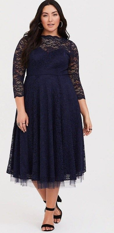 48 Plus Size Party Dresses with Sleeves - Plus Size Wedding Guest Dresses -  Plus Size Fashion for Women - Traveller Location #plussize #alexawebb
