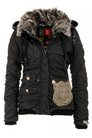 Khujo Women's Winter Jacket Felice | if I didn't wear scrubs all day