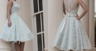 Custom Made White Vintage Lace Wedding Dress Knee Length Wedding Dresses  2018 New Wedding Guest Dress Christmas Wedding Dresses Cocktail Wedding  Dresses