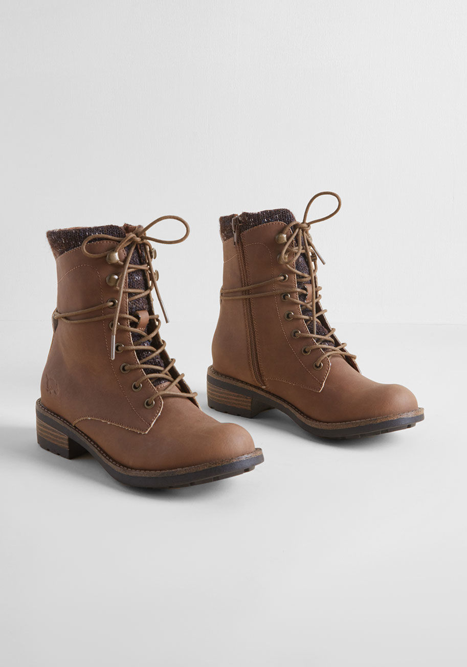 Lace-up boots in brown – from high-quality work shoes to fashionable boots