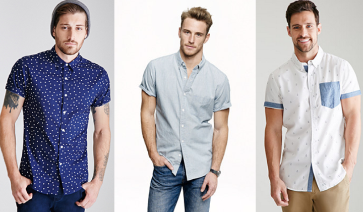 10 Best Short Sleeve Shirts 2015 - Top Mens Short Sleeve Button