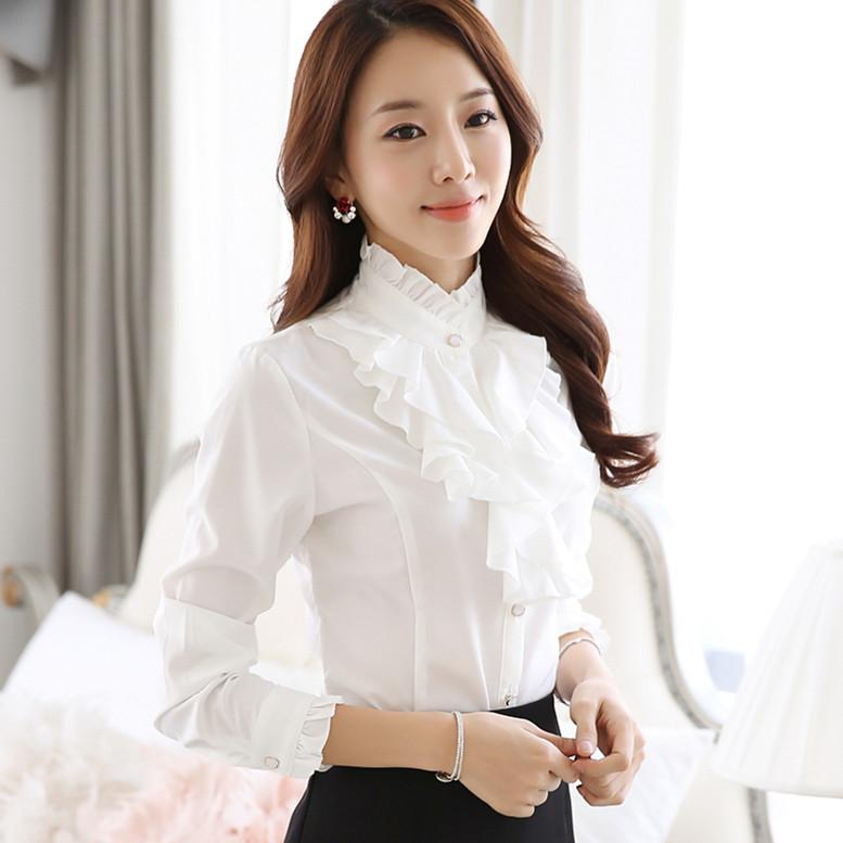 6659af0c5de Tops with blouse collar – ChoosMeinStyle
