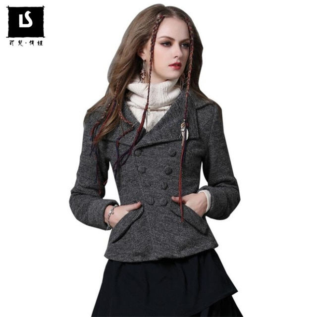 Women's wool short coats – Ladies short coats made of wool