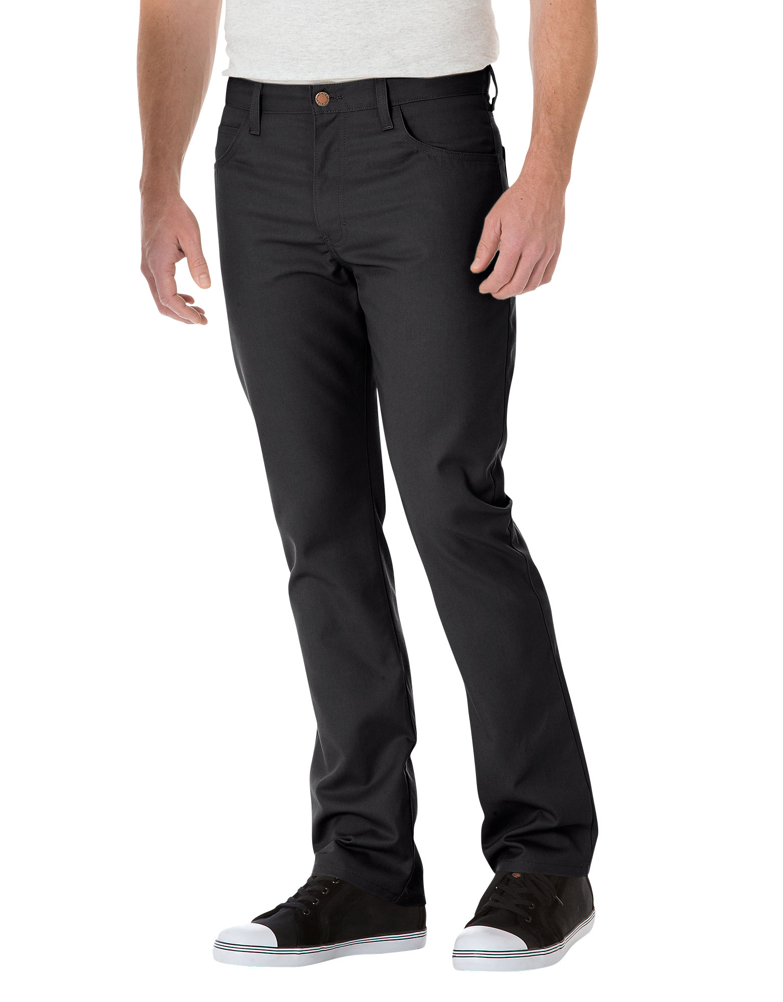Slim Straight 5-Pocket Twill Work Pants | Mens Pants | Dickies