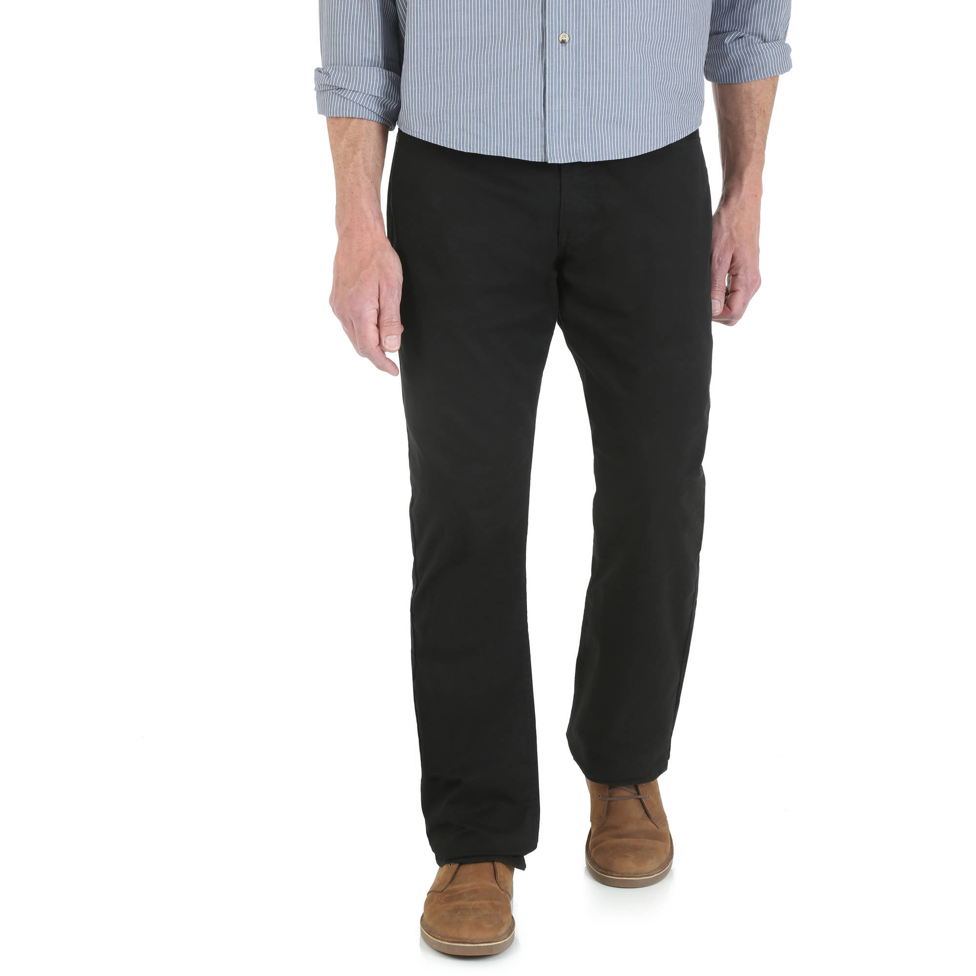 Wrangler - Men's Straight Fit 5 Pocket Pant - Walmart.com