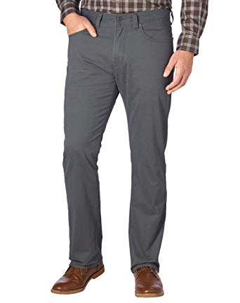Kirkland Signature Mens Standard fit 5-Pocket Pants at Amazon Men's