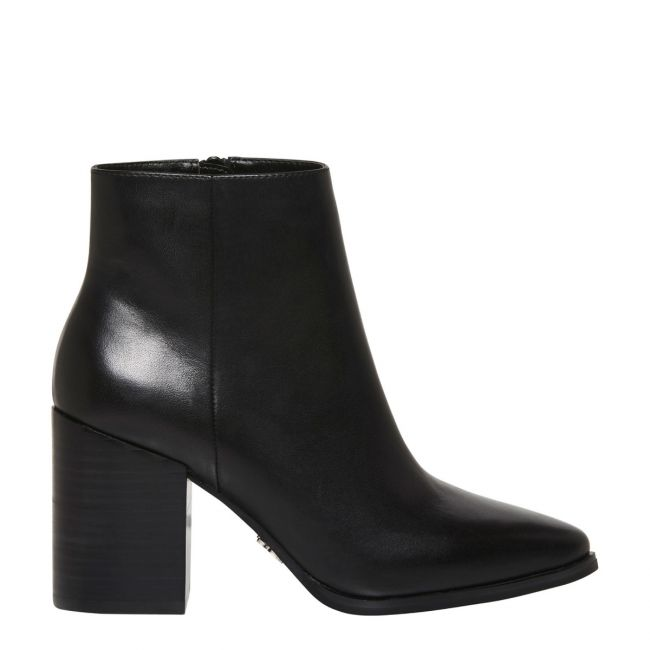 FRANKI BLACK ANKLE BOOTS | WOMENS LEATHER BOOTS ONLINE | Windsor