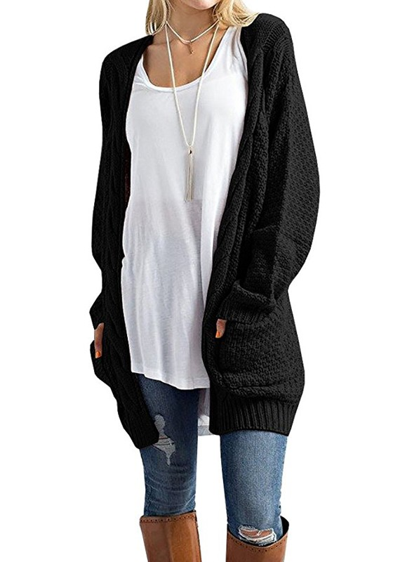 A cardigan in black is more than a basic