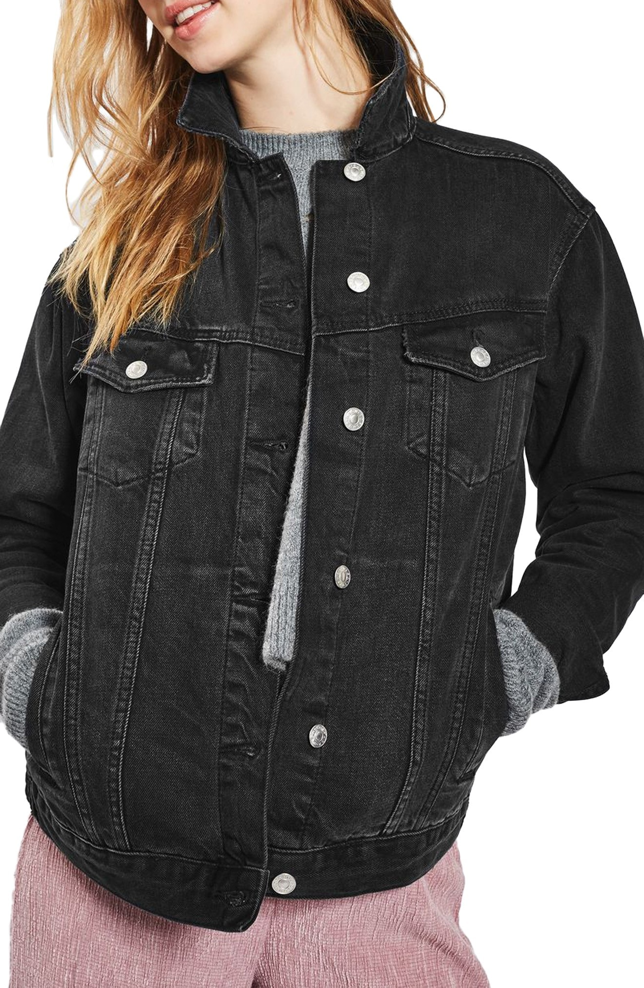black denim jacket | Nordstrom