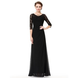 Shop Ever-Pretty Women's Lace Long Sleeve Floor Length Evening Gown