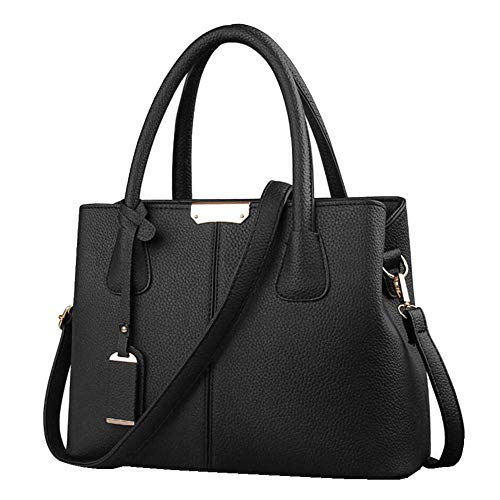 B&E Life Stylish Women Pu Leather Vertical Utility Top Handle