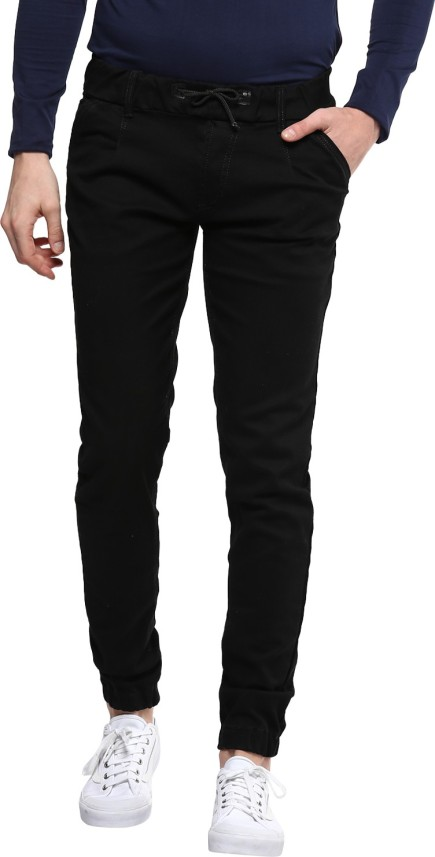 Urbano Fashion Slim Men Black Jeans - Buy Urbano Fashion Slim Men