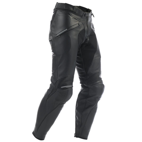 Dainese Alien Leather Trousers - Black - FREE UK DELIVERY
