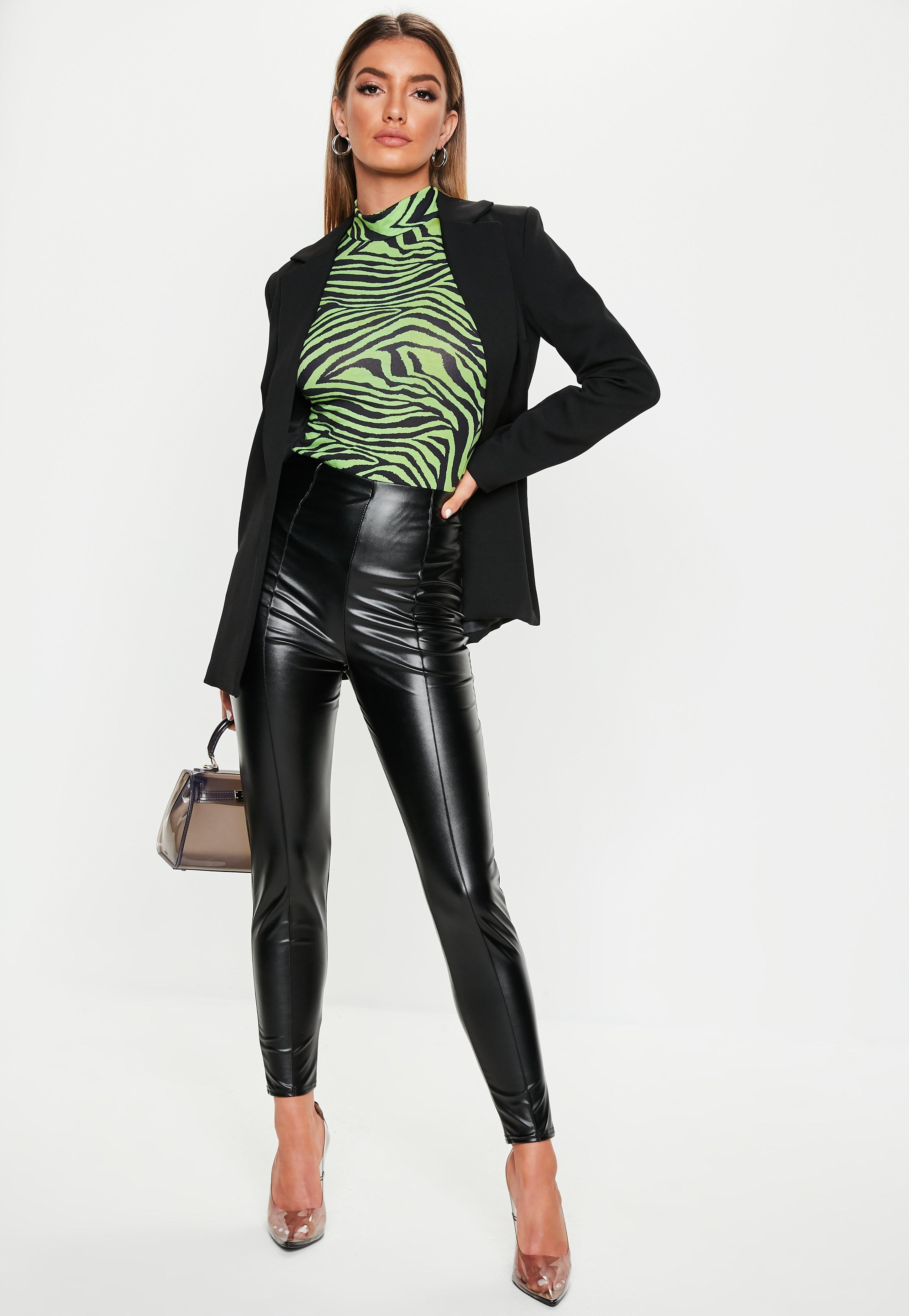 Leather Trousers | Faux Leather Trousers | Missguided