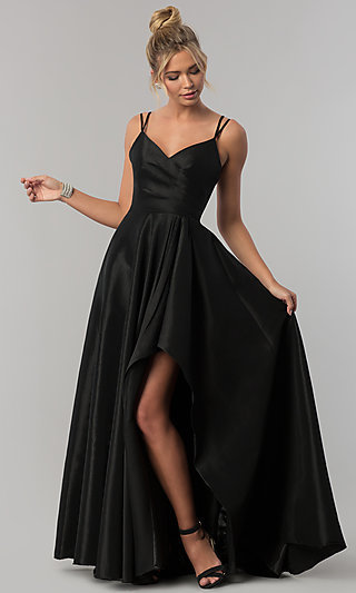 Short Black Dresses, Long Black Prom Gowns - PromGirl