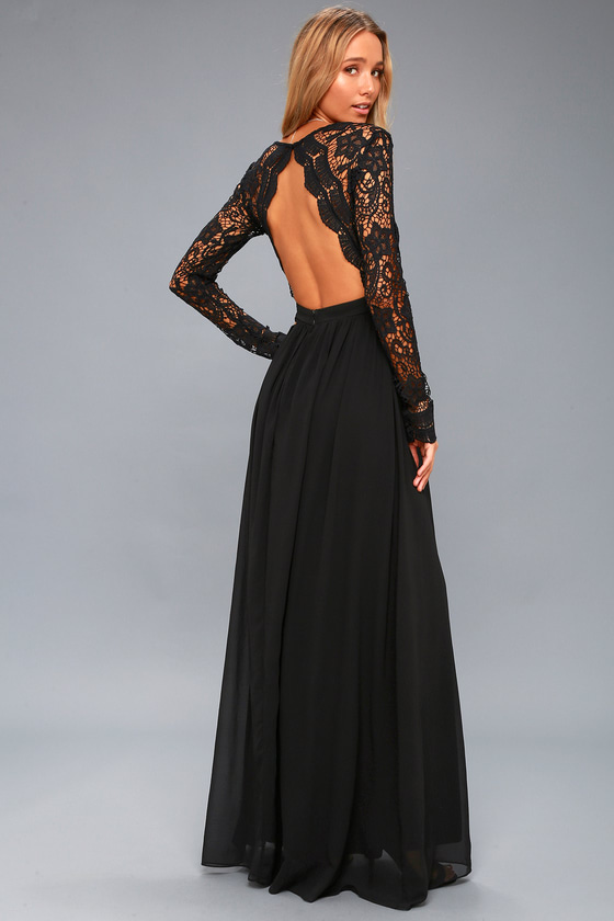 Black Long Dresses -The right thing for every taste