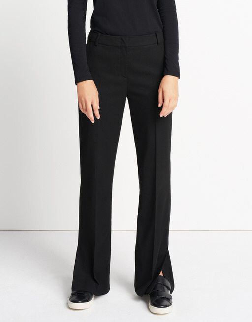 Marlene trousers Chanti slit black by someday | shop your favourites