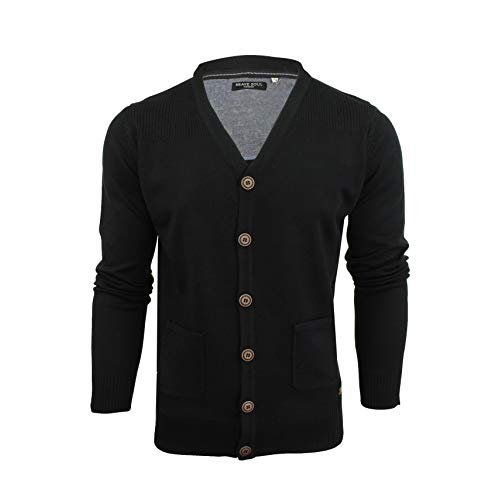Men's Black Cardigans: Amazon.co.uk
