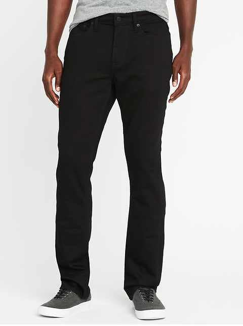 Men's Black Jeans - Never Fade | Old Navy